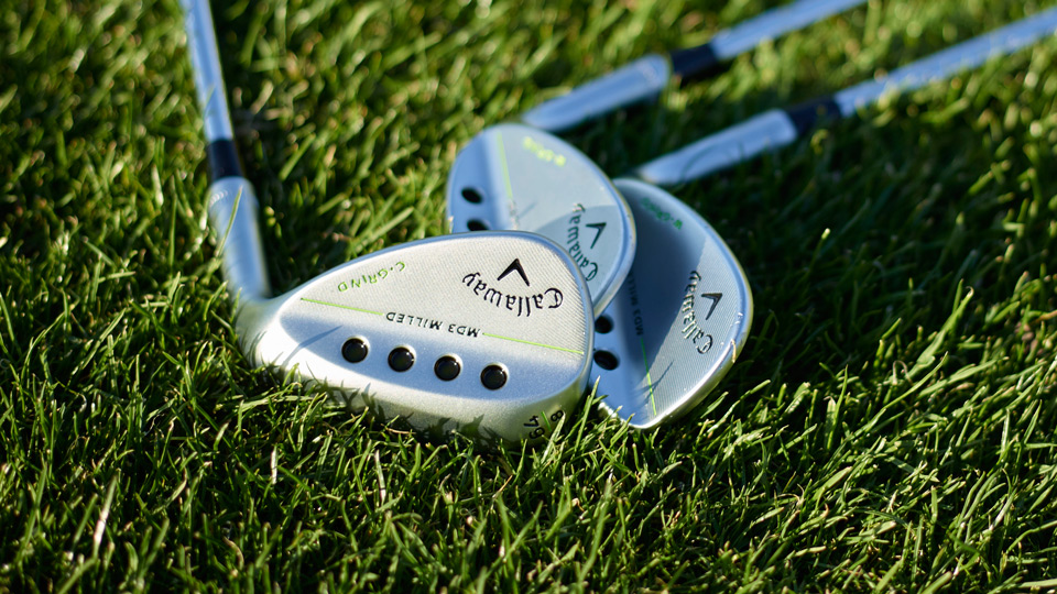 Another look at the Callaway MD3 Milled wedges with new lofts.