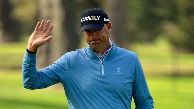 Stwart Cink, 43, is a six-time winner on the PGA Tour.