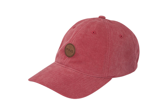 Keep dad's gaze shaded with Ping's Fairway cap, which comes with an adjustable leather strap (brass buckle) and the Ping logo sewn onto genuine leather on the front.