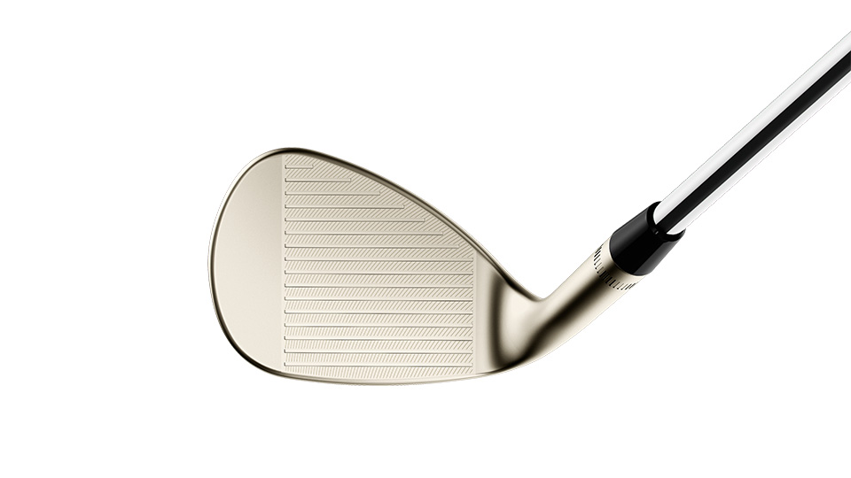 Progressive groove optimization further improves versatility by promoting optimal spin rates for approach shots and trouble shots.