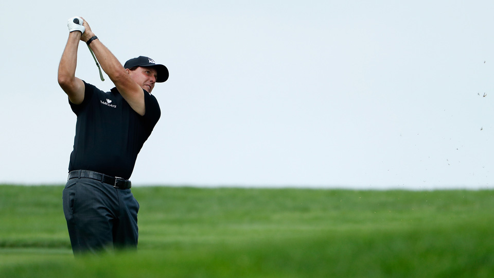 If Phil Mickelson makes the cut, he still has work to do as he chases the career grand slam.