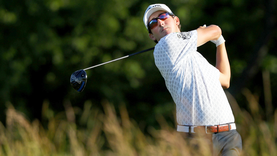 Andrew Landry didn't slow down after his opening-round 66. He shot 71 Saturday and is one off the lead after 54 holes.