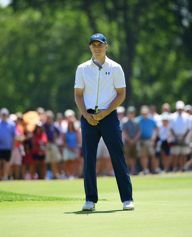 He will need to go low over the final 36 holes to defend his 2015 U.S. Open title.