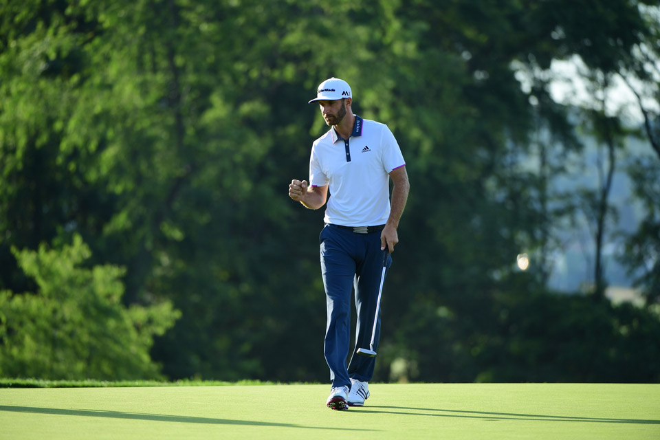 Johnson started the final round four shots behind Shane Lowry.