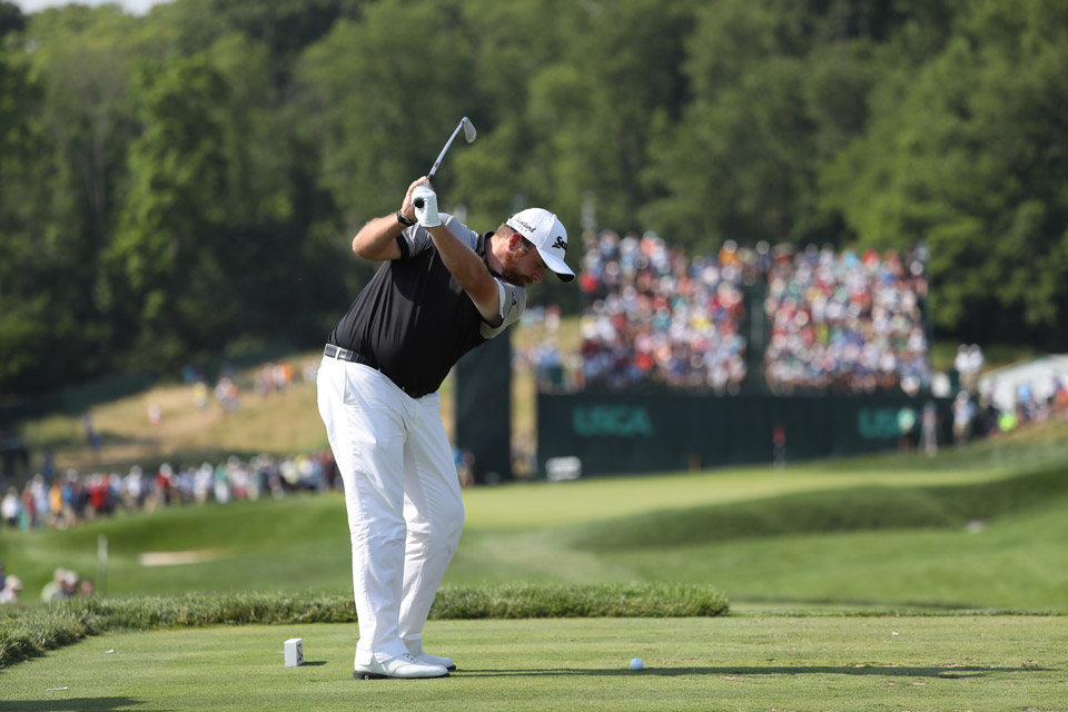 Shane Lowry was unable to hold onto his big 54-lead and finished T2.
