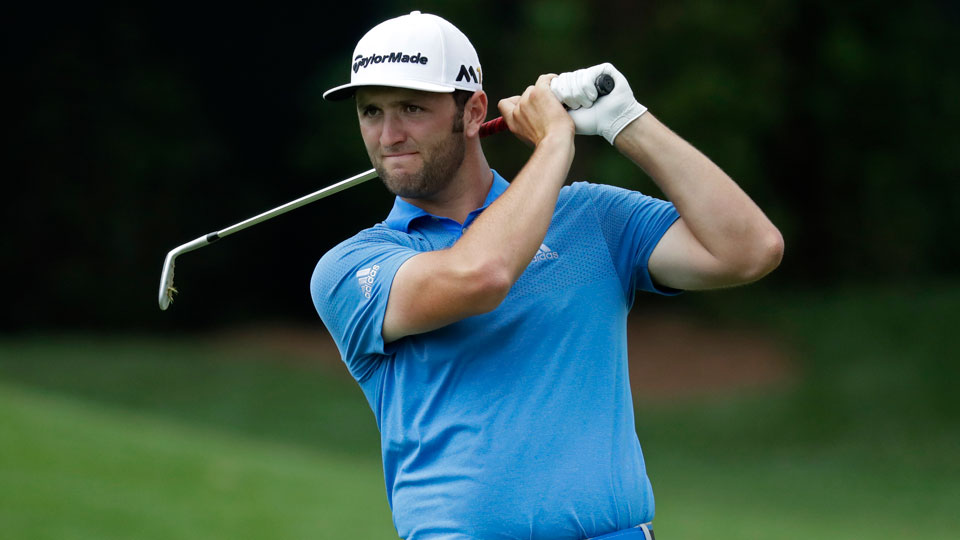 Rookie Jon Rahm is one of the players in pursuit of FedEx points and status this week at the Wyndham Championship.
