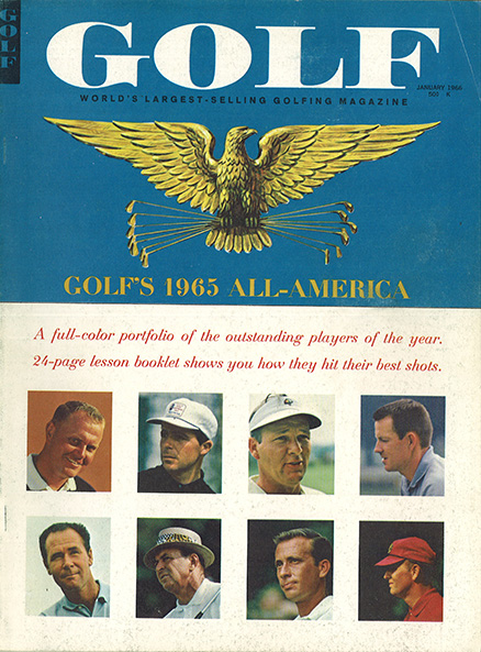 Arnold Palmer, GOLF Magazine, January 1966