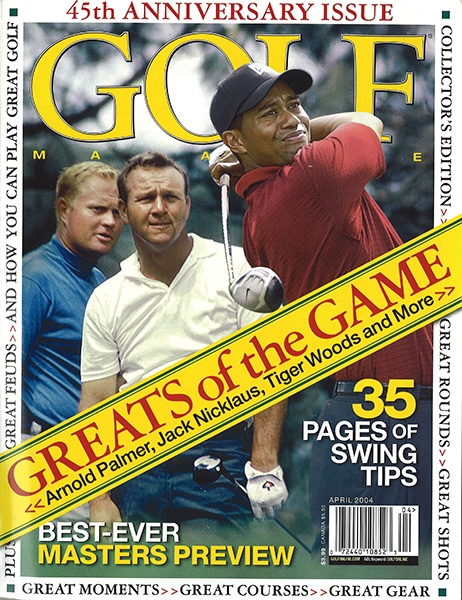Arnold Palmer, GOLF Magazine, April 2004