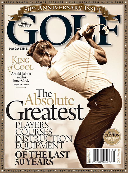 Arnold Palmer, GOLF Magazine, September 2009