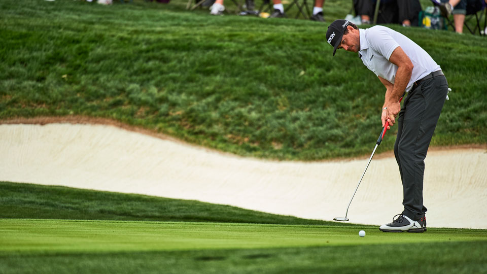 Under our new rules, Keegan Bradley's belly putter would be back in action.