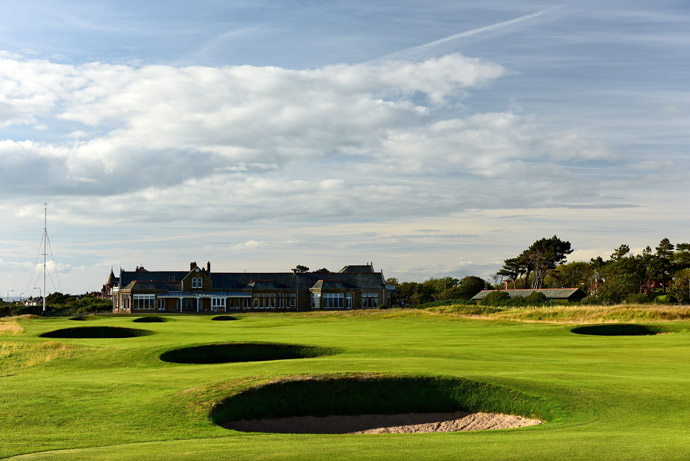 Par-4, 18th hole, 'Craigend'
