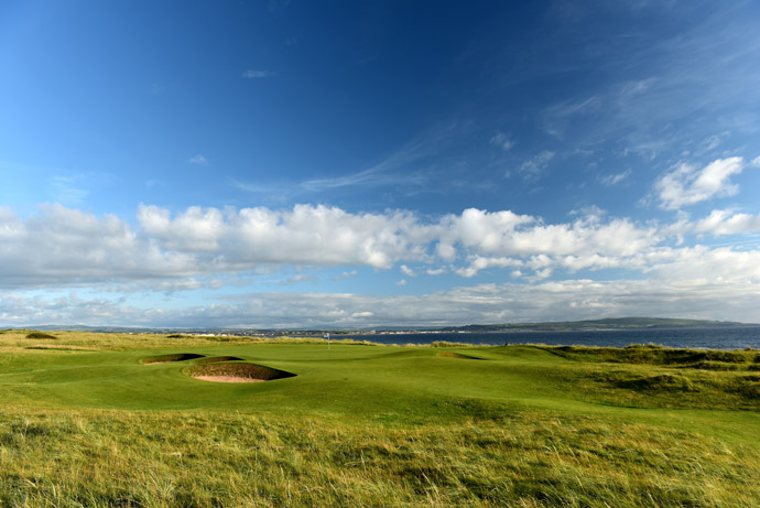 Par-3 5th hole, 'Greenan'