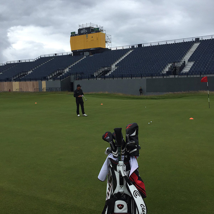 Another great days prep here @royaltroon. Looking forward to coming back in a week. On now to the @AAMScottishOpen
