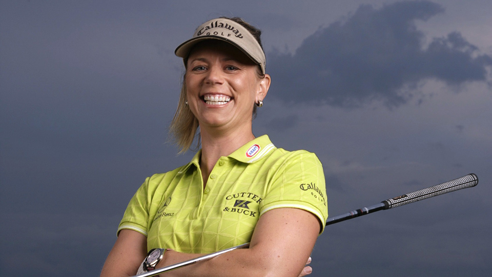 Annika Sorenstam in 2005, the year she won a third straight LPGA Championship.