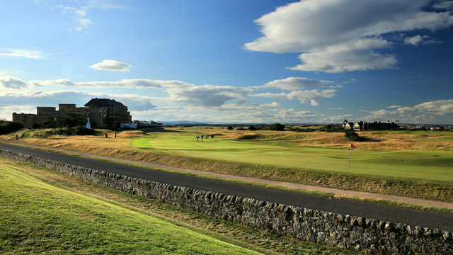 St. Andrews (Old Course), No. 17, 495 yards, par 4