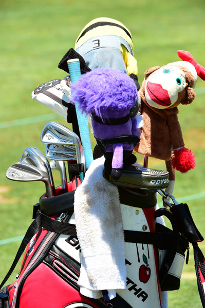 A zoomed out view of Ko's bag.
