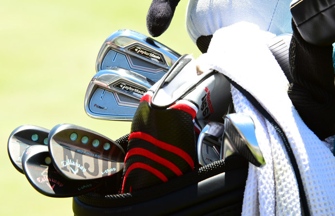 Mi Jung Hur has a mixture of TaylorMade RSi2 irons and Callaway MD3 Milled wedges.