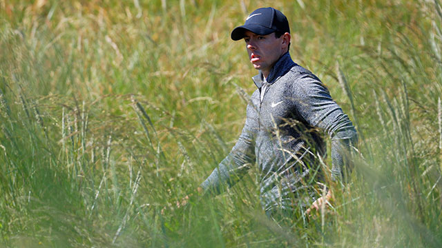 Rory McIlroy finished with a first-round 69, good enough for a T14 spot at the conclusion of his round.