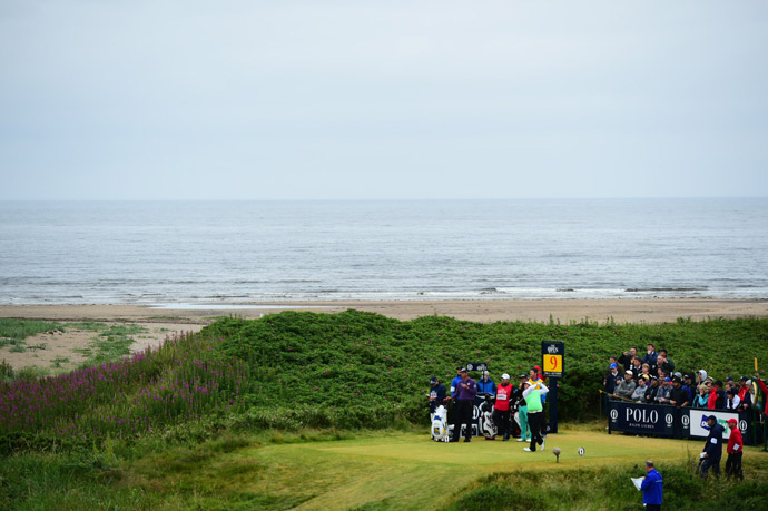 A view of the 9th tee.