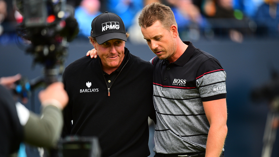 Henrik Stenson edged Phil Mickelson in what was an epic Sunday at Royal Troon.