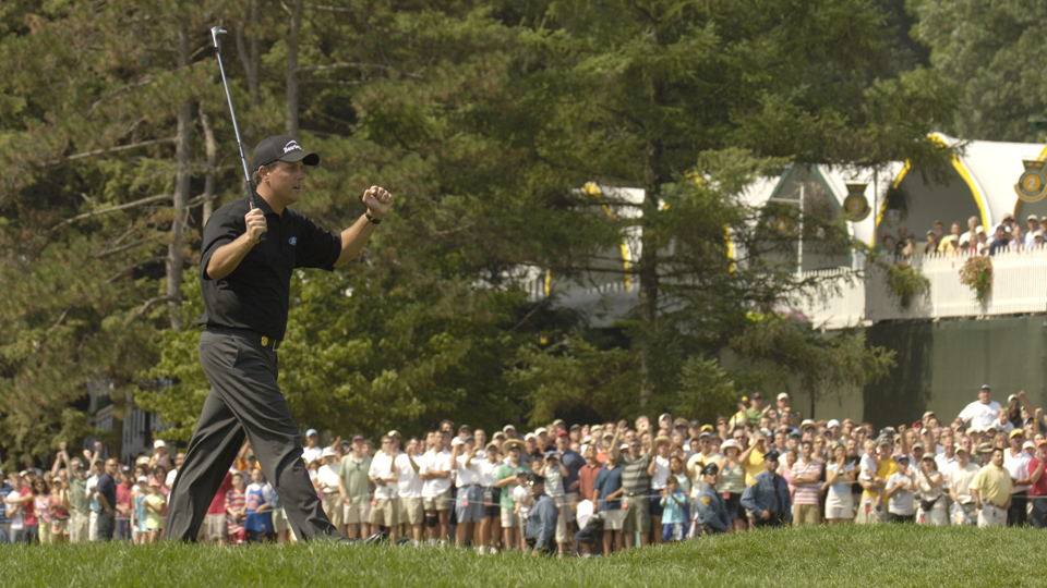 Phil Mickelson won his second major at Baltusrol in 2005, and he's added a few more since.