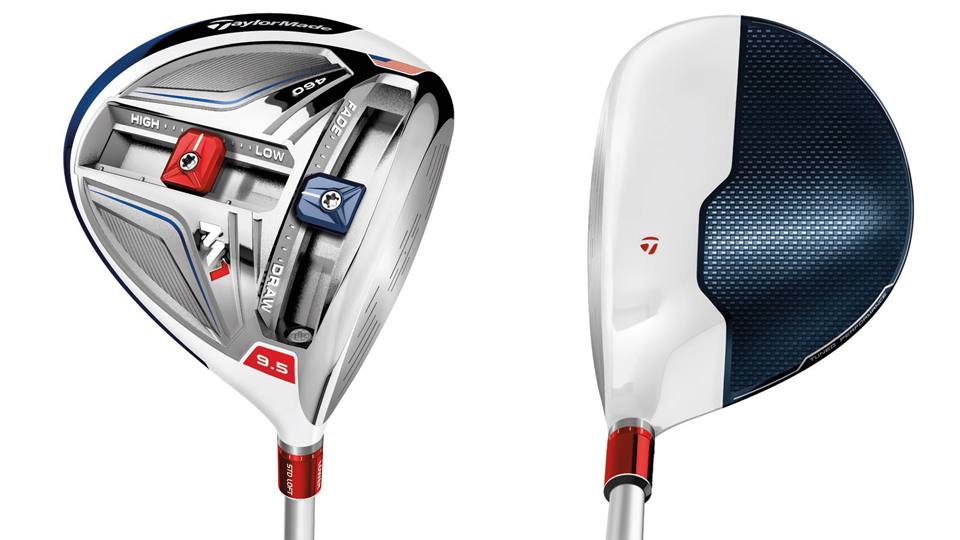 New new American-themed special-edition TaylorMade M1 driver.