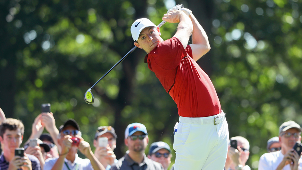 Rory McIlroy, teeing off during a PGA Championship practice round on Tuesday, has one last chance to win a major in 2016.