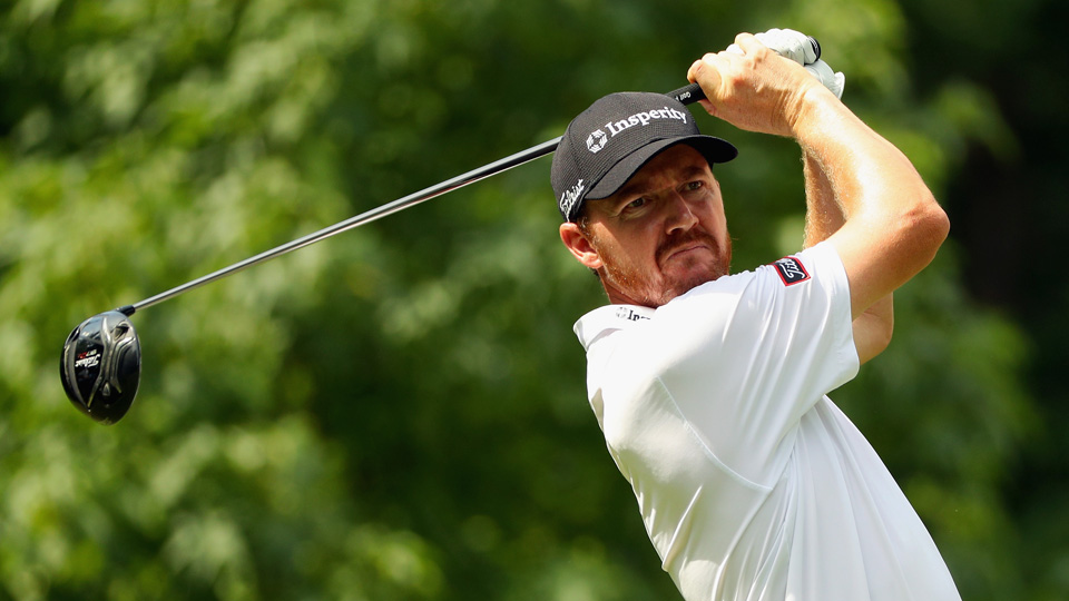 Jimmy Walker shot an opening-round five-under 65 to take an early lead at the PGA Championship on Thursday.