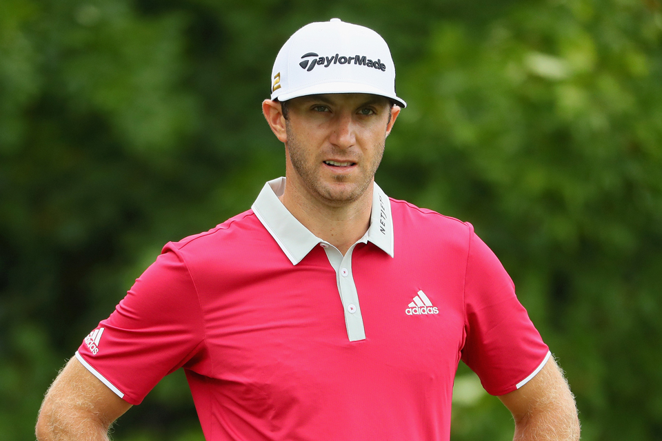 Dustin Johnson was the favorite coming into the week, but he'll leave early, missing the cut at Baltusrol.