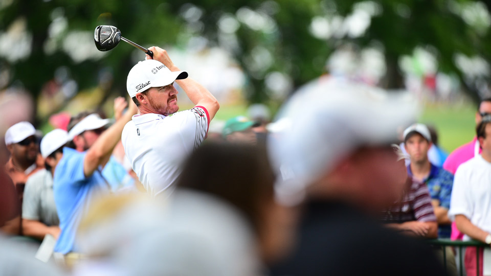 Jimmy Walker shot a 66 in the second round of the 2016 PGA Championship.