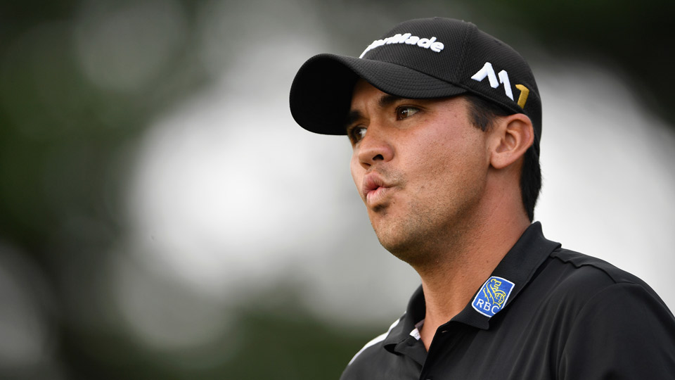 Jason Day during the final round of the 2016 PGA Championship.