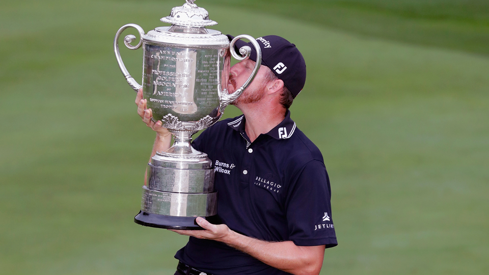 Jimmy Walker continued the parade of first-time major champions at the 2016 PGA Championship.