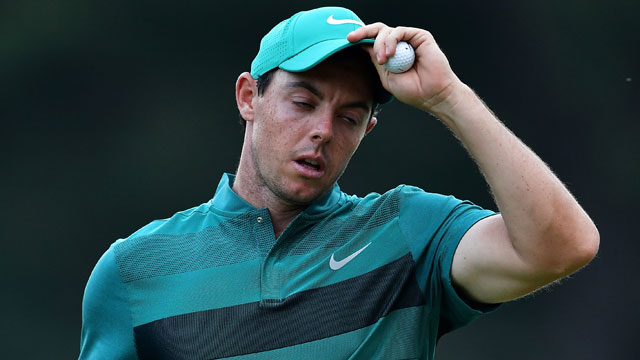 Rory McIlroy shot 74-69 to miss the cut at Baltusrol.