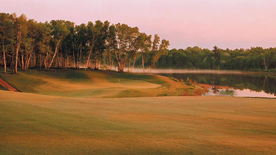 The 5th hole at Deacon's Lodge.