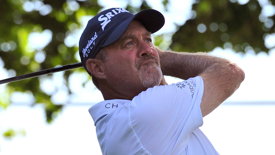 Jerry Kelly is a three-time PGA Tour winner who played college golf at the University of Hartford.
