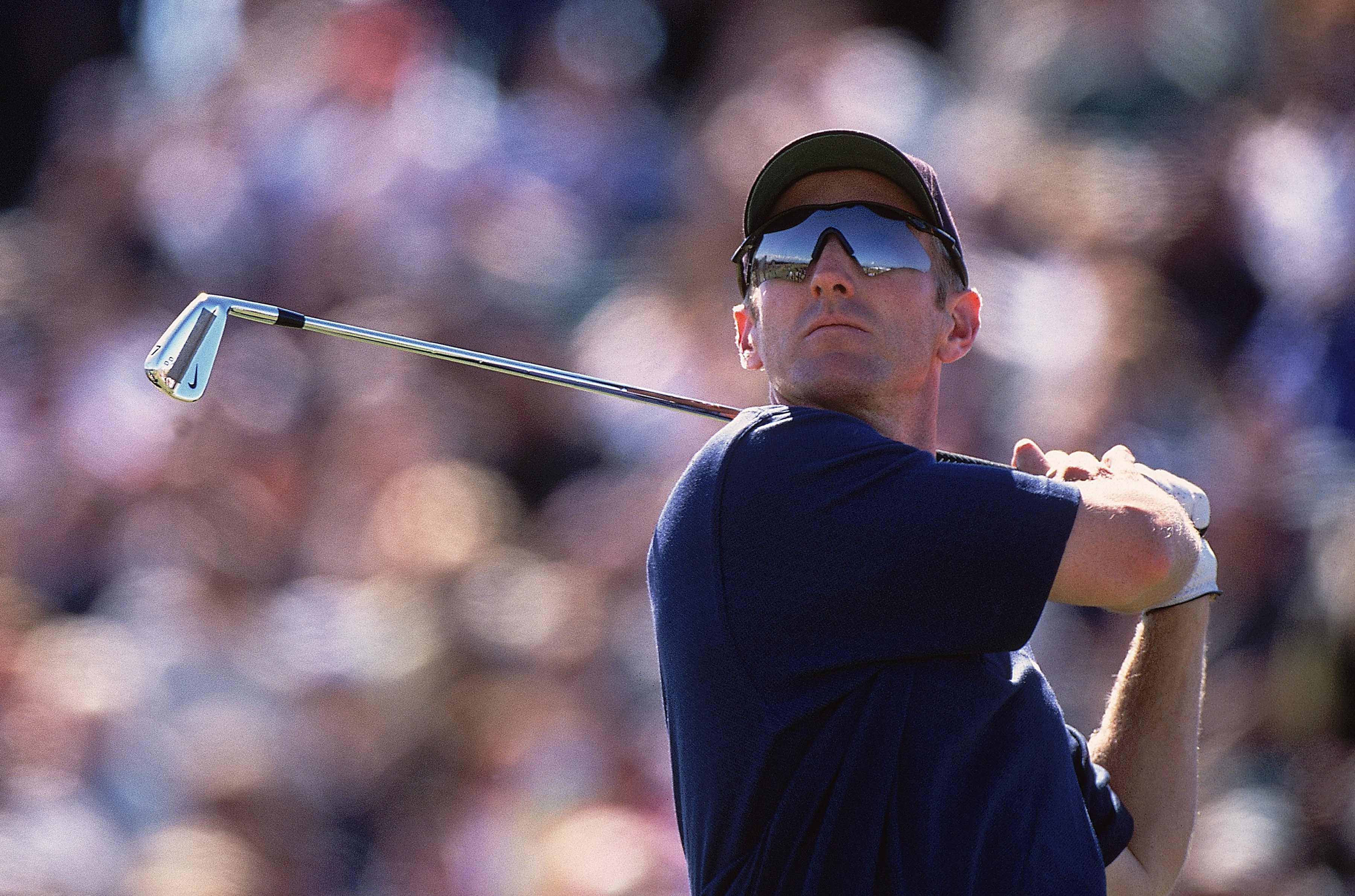 David Duval became the first player to win with Nike clubs when he won the 2001 British Open using Nike irons.
