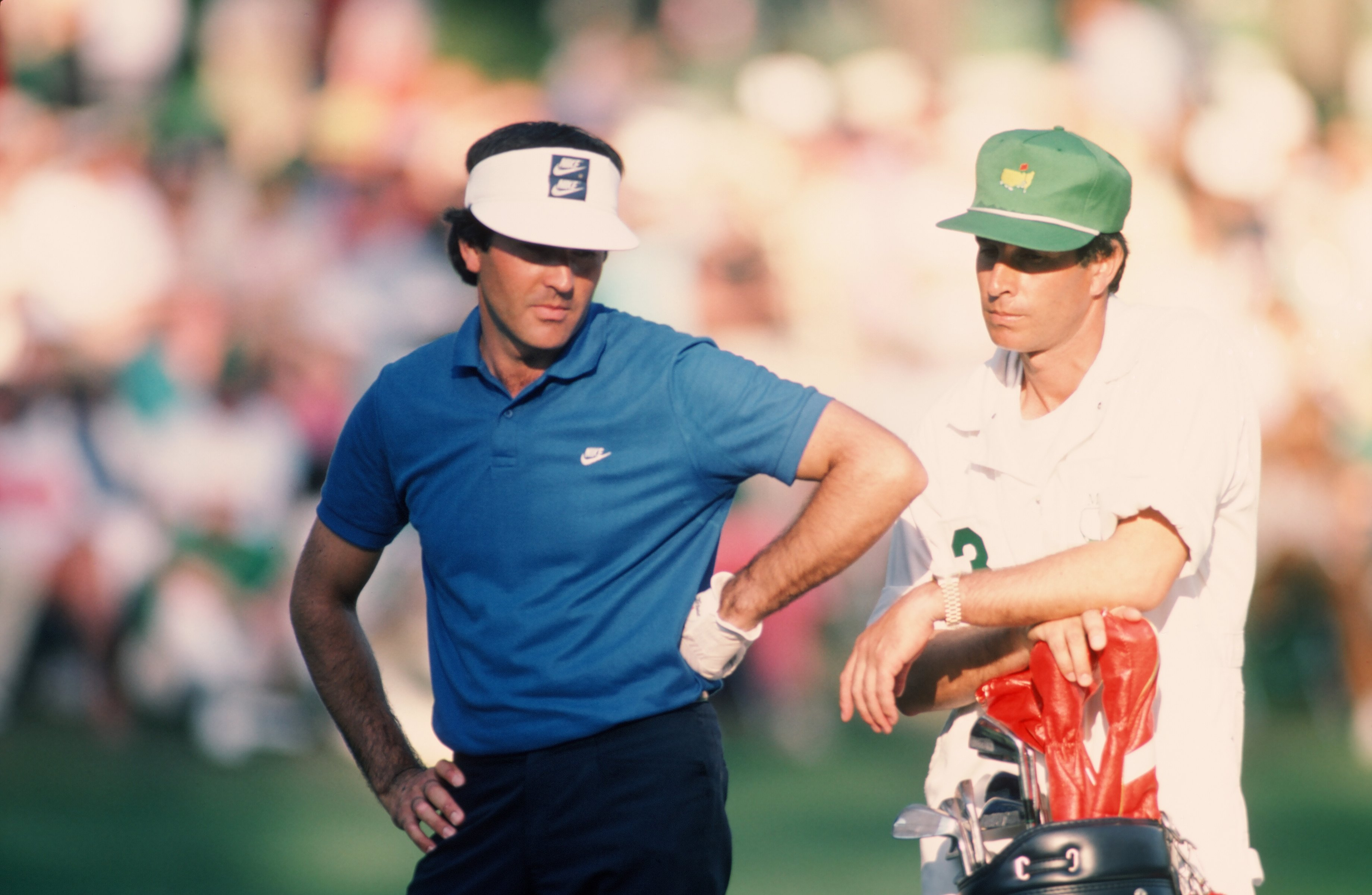 Seve Ballesteros signs an endorsement deal with Nike, helping the Swoosh enter the world of professional golf.