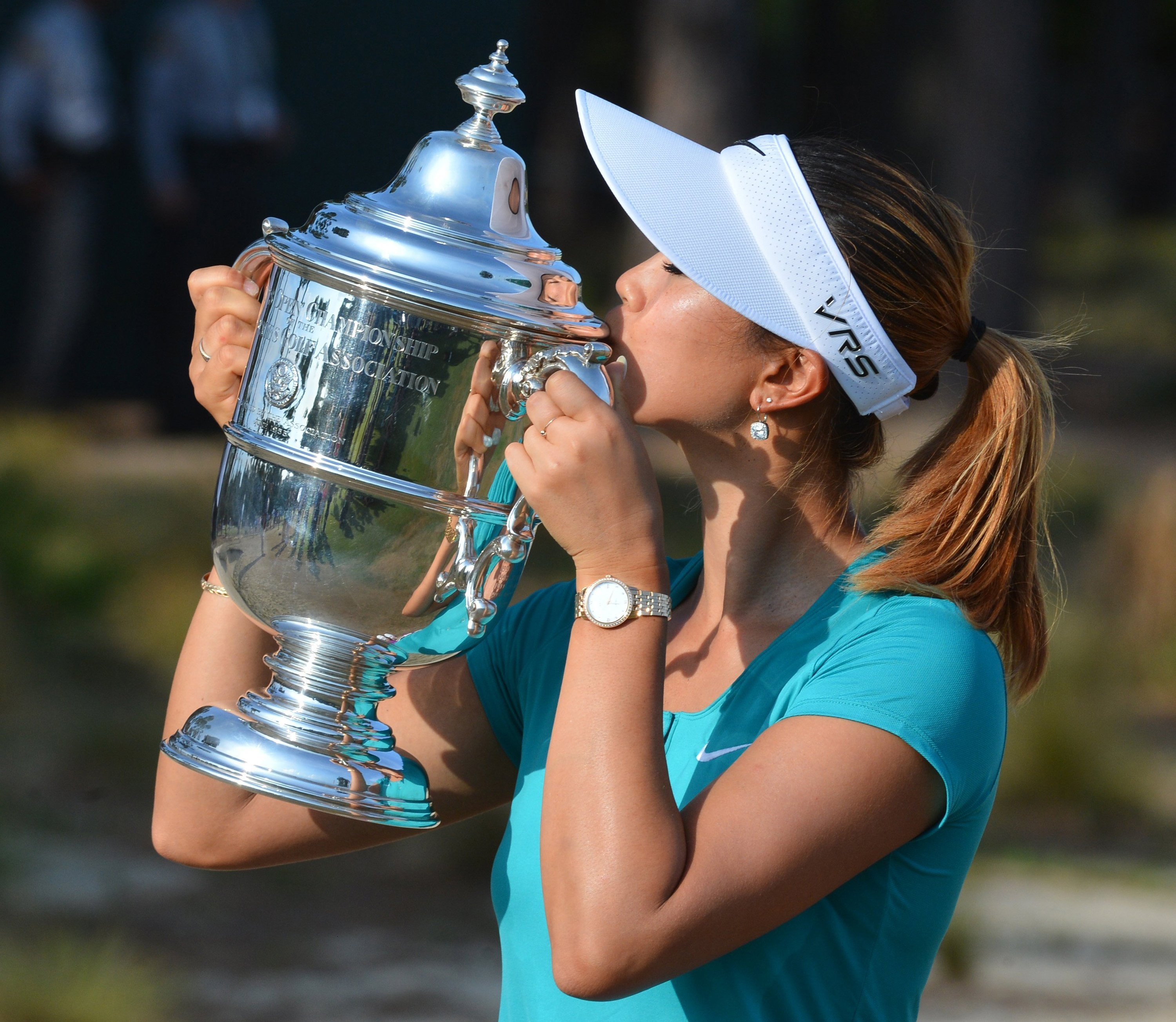 Nike athlete Michelle Wie wins the 2014 U.S. Women's Open for her first major championship.