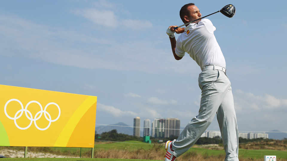 Sergio Garcia doesn't have a major victory yet, but can he add a gold medal to his resume?