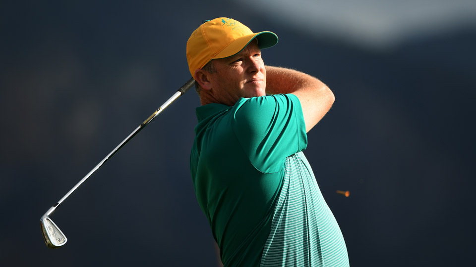 Marcus Fraser fired a 63 in the first round of the Olympic Golf event.