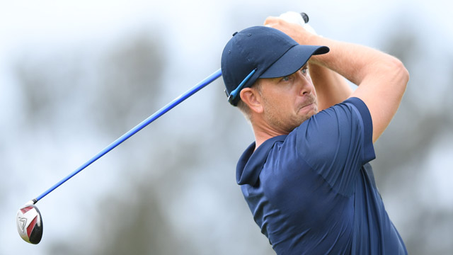 Henrik Stenson is two shots off the lead entering Saturday at the Olympics.