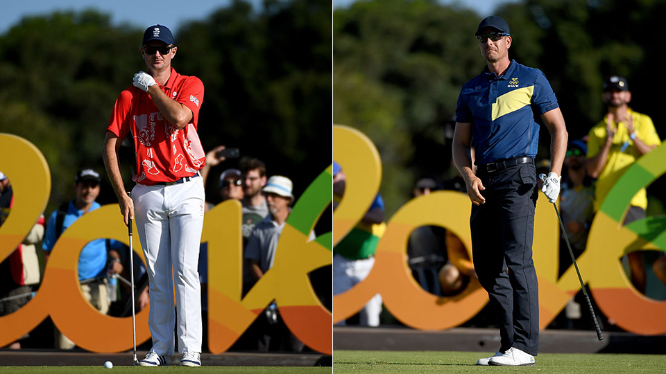 The Olympic Gold medal will be claimed Sunday, and Justin Rose and Henrik Stenson are the favorites.