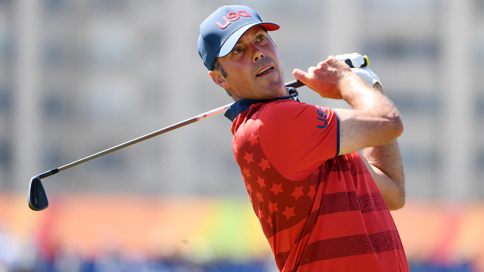 Matt Kuchar only got into the Olympics after a couple of other Americans dropped out, but he's going home with a bronze medal.