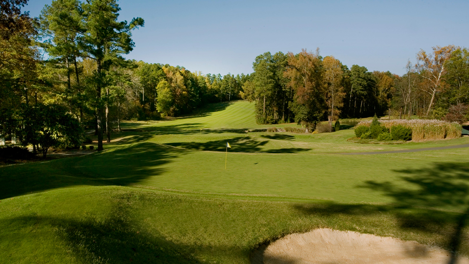 Duke University Golf Course located in Durham, North Carolina