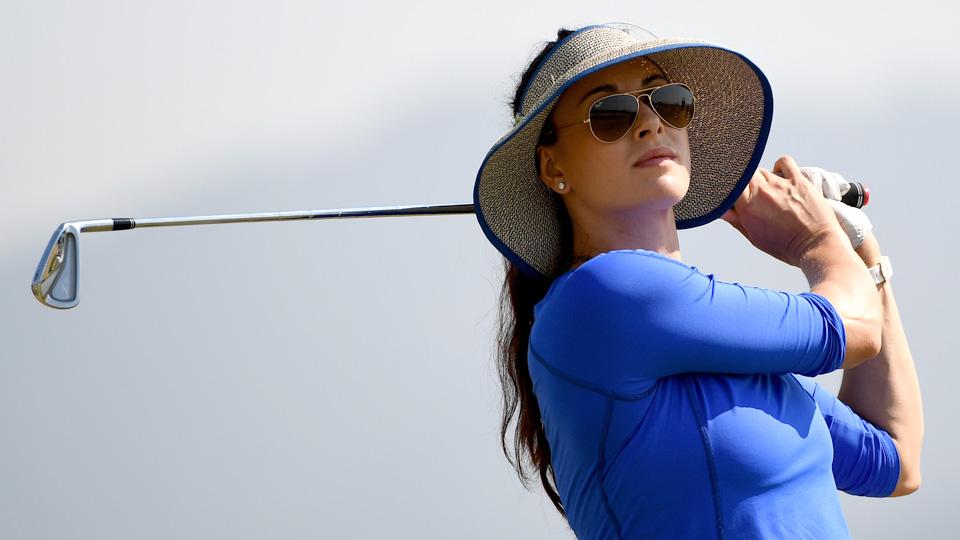 Maria Verchenova opened the Rio Games with a 75.