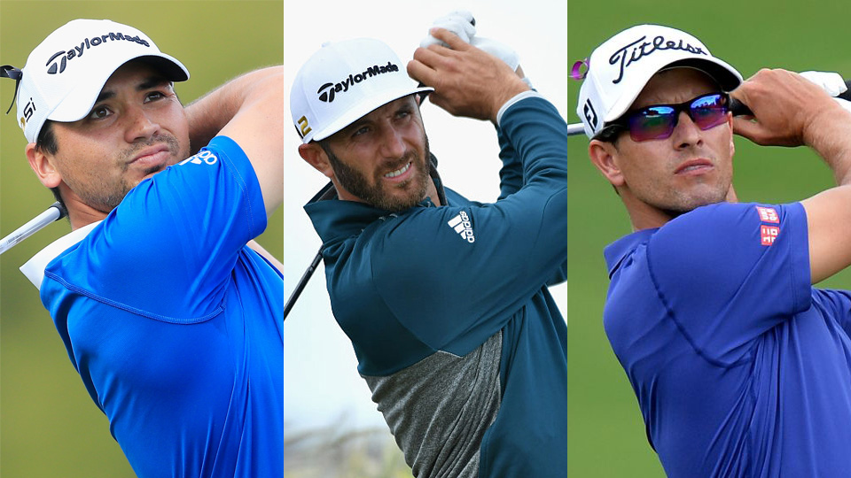 World No. 1 Jason Day will play in the marquee group with fellow major winners Dustin Johnson and Adam Scott.
