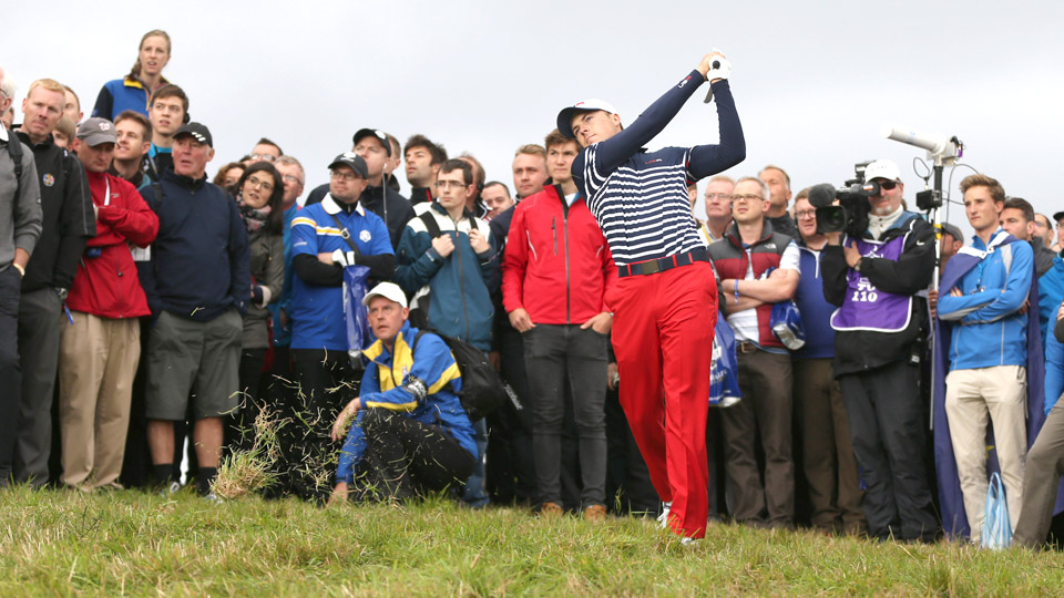 Jordan Spieth is one of the eight players already on the U.S. Ryder Cup team.