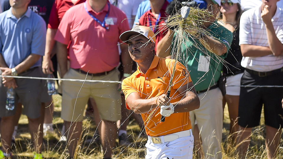 Rickie Fowler had a chance to play his way onto the Ryder Cup team, but now he has to wait and see if he will be a captain's pick.