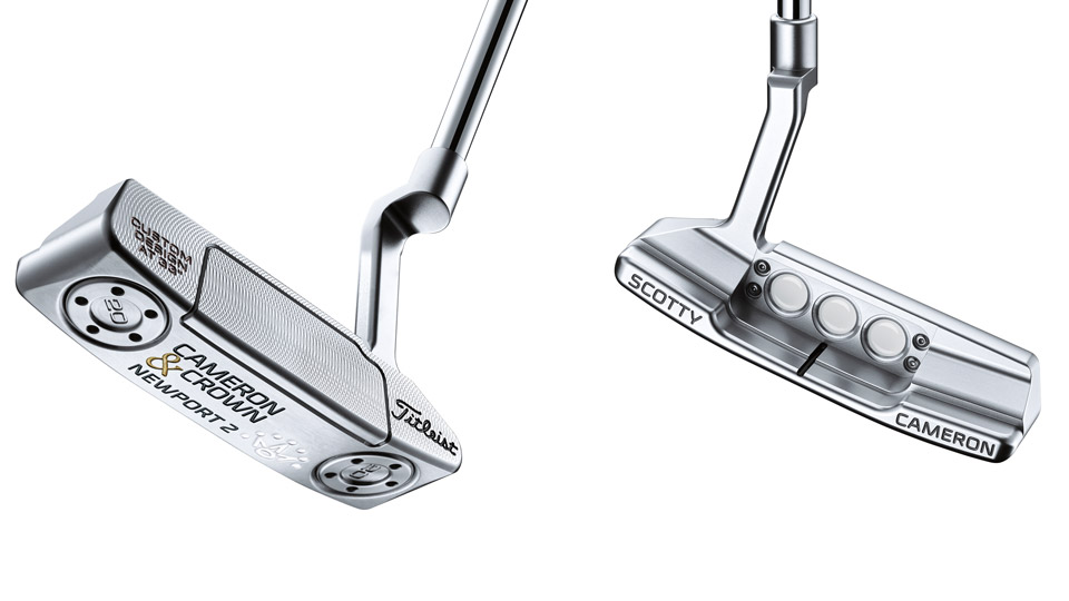 The Cameron & Crown version of the Select Newport 2 putter model.