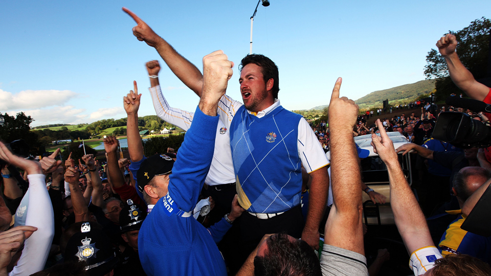 Graeme McDowell has been a member of the last four European Ryder Cup teams.